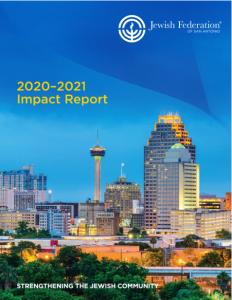 Jewish Federation of San Antonio Annual Report cover